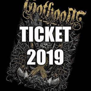 GOTHOOM 2019 VSTUPENKA  !!! Limitovaná edícia