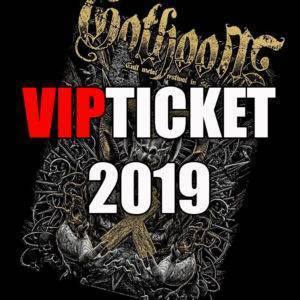 GOTHOOM 2019 VSTUPENKA  !!! sold out