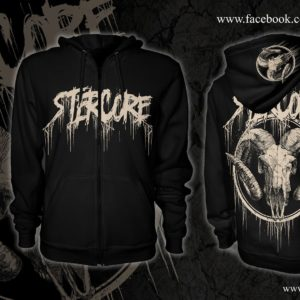 Stercore /goat ZIP hoodie